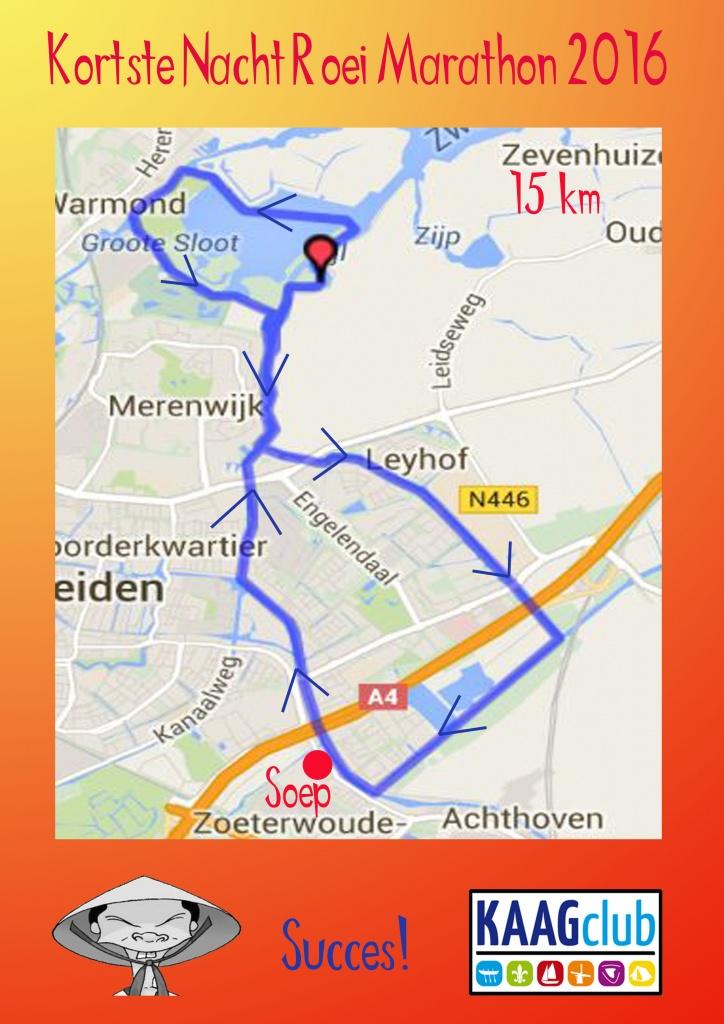 route 15 km